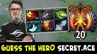 Guess the hero — TOP-20 Rank edition by Secret.Ace