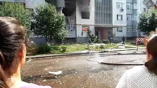 пожар в 53 комплексе Набережные Челны