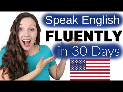 Download Speak English FLUENTLY in 30 Days: The Truth Mp4 HD Video and MP3