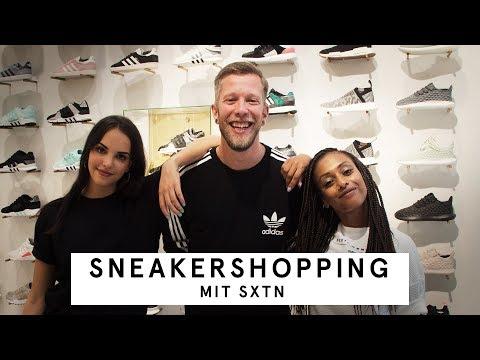 Sneaker Shopping mit SXTN bei Overkill