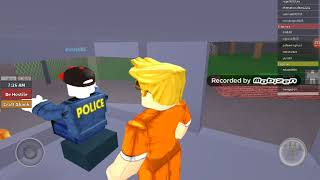 Redwood Prisoner! Побег из тюрьмы 2 раза! [ROBLOX]