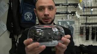 Маска для плавания и подводной охоты с зеркальными стёклами от компании МагазинCalipso dive shop - видео