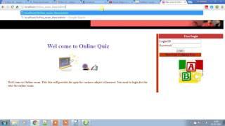 Online Examination Installation Steps