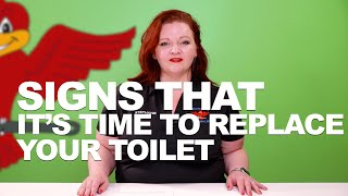Signs of the Time to Replace Your Toilet