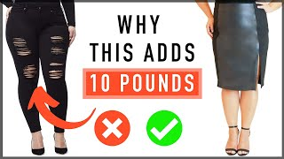 How To Look 10 Years Younger and Slimmer | Style Tips For Women Over 50!