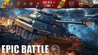 ИС-6 самый эпичный бой 🌟 медаль Фадина 🌟 World of Tanks лучший бой на ИС-6 wot
