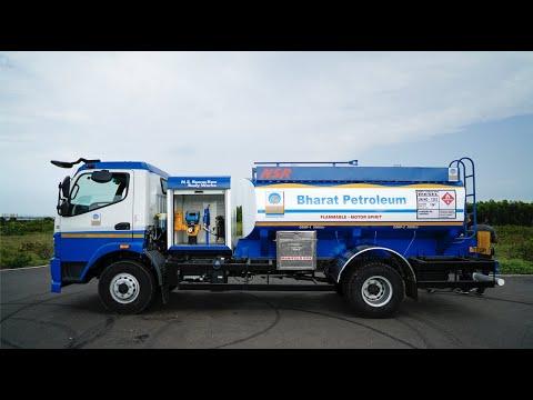 HPCL Fuel Bowser / Mobile Petrol Pump