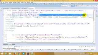EJB Tutorial - Part 8 - CRUD with EJB and JPA in Struts Framework