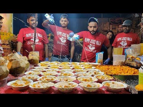KING of MANGO CREAM | Epic Shower of Cream | Indian Street Food