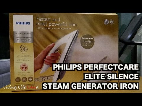 PHILIPS PERFECTCARE ELITE SILENCE - THE ROLLS ROYCE OF IRONS! | REVIEW