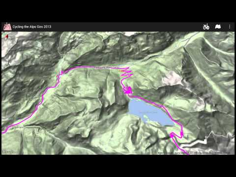 Video of Giro d'Italia routes 2013