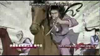 [Jiang Hu] Strange Hero Yi Zhi Mei Ost Opening.avi
