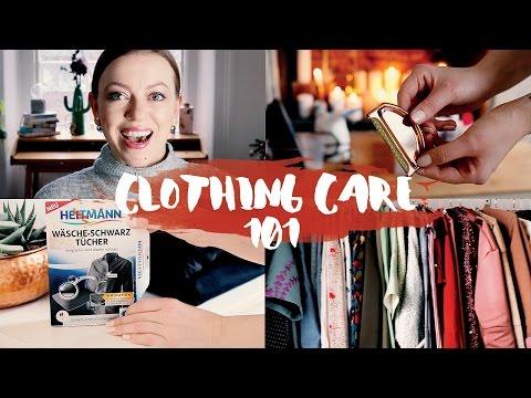 Die 10 besten Tipps | Wie ich meine Kleidung pflege #ClothingCare101