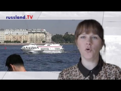 Peterhof per Tragflügelboot [Video]