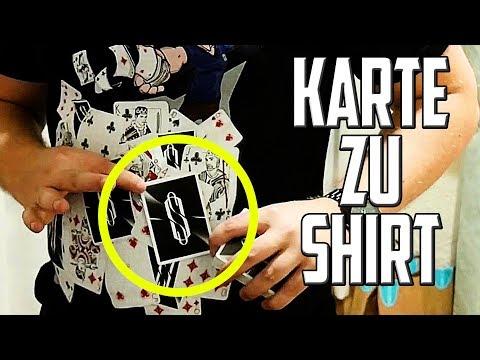 KARTE auf SHIRT zaubern - Hex Hex! Das Zaubertrick-Shirt
