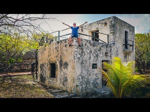 Exploring ABANDONED MAYAN THEME PARK! + Turtle Sanctuary 😍 🐢 (Mexico Vlog Day 2)