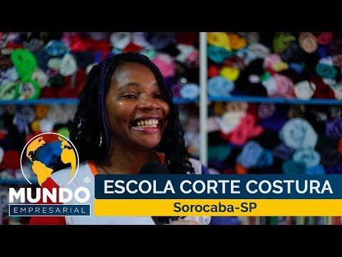 Projeto Fashion é ser solidário Escola de costura Sorocaba Escola de moda Sorocaba