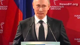 Скандал! Путин и Femen в Ганновере