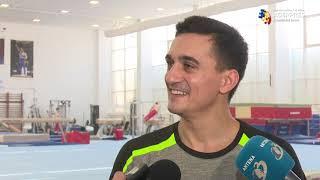 Gimnastică artistică: Marian Drăgulescu spune că are şanse de 90% să devină campion olimpic