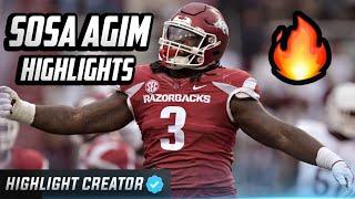 Official Sosa Agim Highlights 💪🏿 Impact Player - Arkansas Razorbacks Defensive Lineman ᴴᴰ