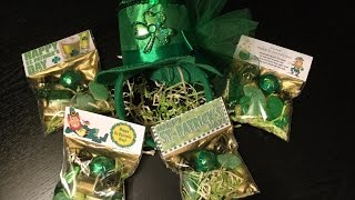 St Patrick's Day party favors - How to make your own goodie bags