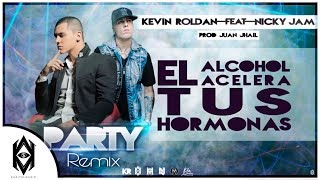 Kevin Roldan Ft. Nicky Jam  - Party Remix [ VIDEO LYRIC ] @KapitalMusic_