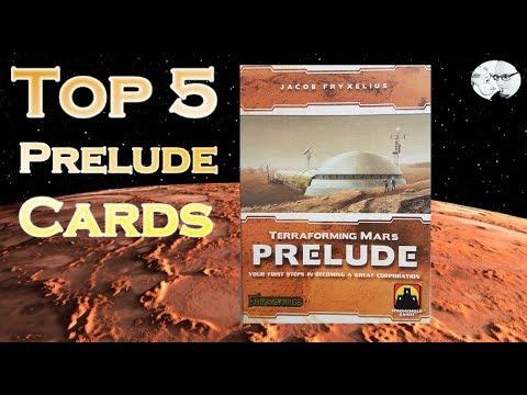 Terraforming Mars: Top 5 Prelude Cards
