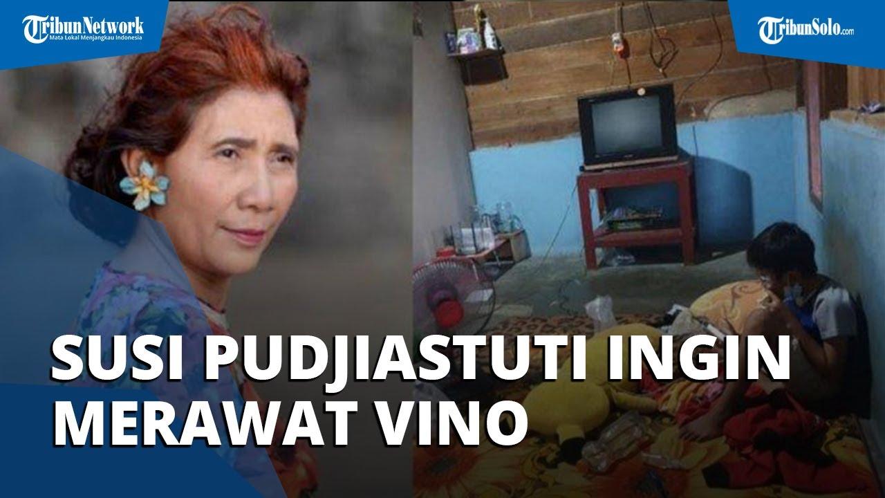 Susi Pudjiastuti Nangis Dengar Kisah Pilu Vino Orangtuanya Wafat,