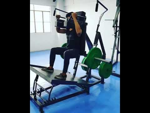 ENSAYO Back Squat Leverage Plate Load Machine