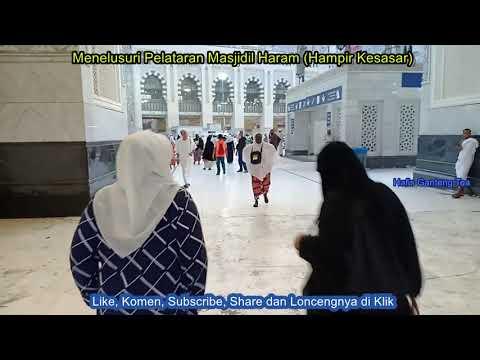 Menelusuri Pelataran Masjidil Haram (Hampir Kesasar)