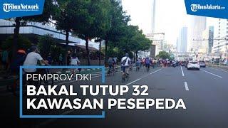Pelanggar Protokol Kesehatan Masih Tinggi, Pemprov DKI akan Tutup 32 Kawasan Khusus Pesepeda