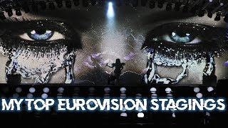 MY TOP 50: BEST EUROVISION STAGINGS