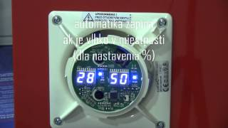 Bytový ventilátor CATA E-100 GTH - ako funguje