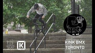 BMX IN TORONTO CANADA WITH KINK BMX - E-LOG 010
