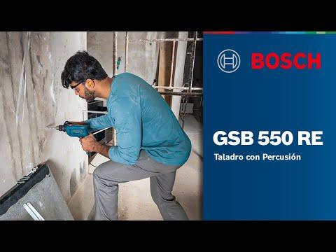 Nuevo taladro de percusión Bosch GSB 550 RE