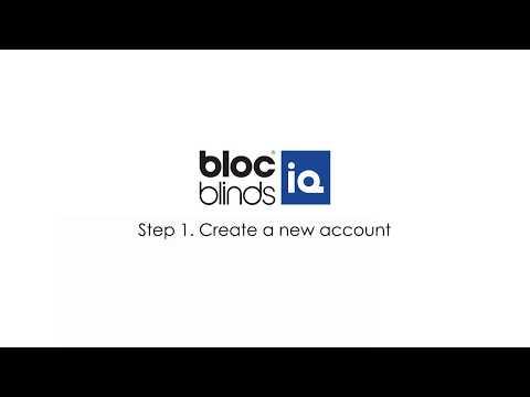 Step 1: Create a new account