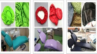 4pcs/set Washable Dental Unit Chair Cover Protector TR-CCP01