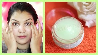 Dark circles, wrinkles removal, anti ageing eye cream DIY/powerfull homemade under eye gel