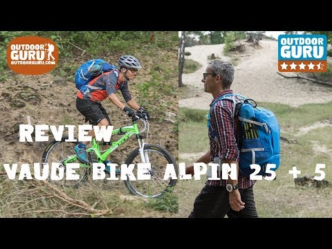 Review Vaude Bike Alpin 25+5 rugzak