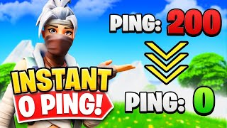 How To Get 0 Ping on Fortnite PS4 (2021) *WORKING*.