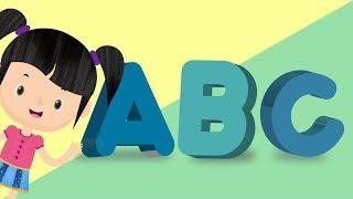 Belajar Membaca Huruf Alfabet Bagian 2 | Bunbun Belajar Alfabet