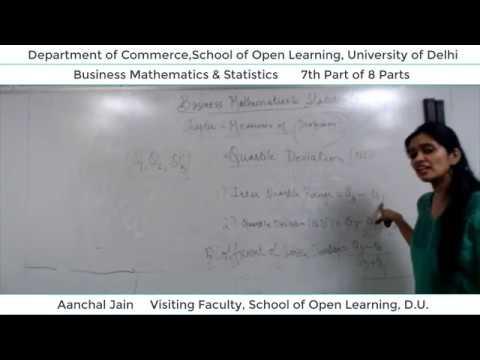 B.Com 2nd Semester (B.M.S) Lecture - Aanchal Jain  Part-7