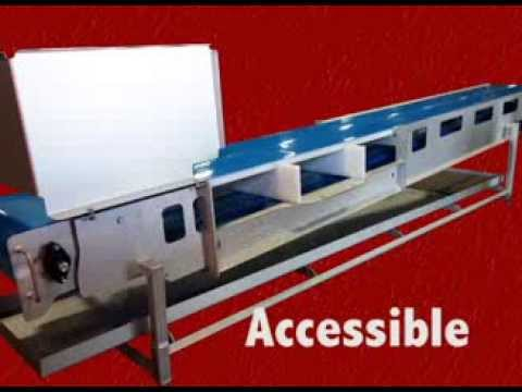 Sanitary Belt Conveyor Conveyor sold by Mepaco, part of Apache Stainless Equipment Corp.