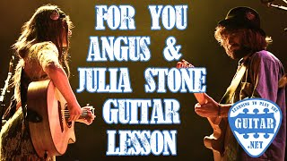 For You - Angus & Julia Stone Guitar Lesson