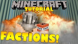 Minecraft: Factions Tutorial - Beginners Guide - (Minecraft Faction Tips)