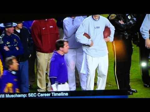 Nick Saban & Will Muschamp Explode