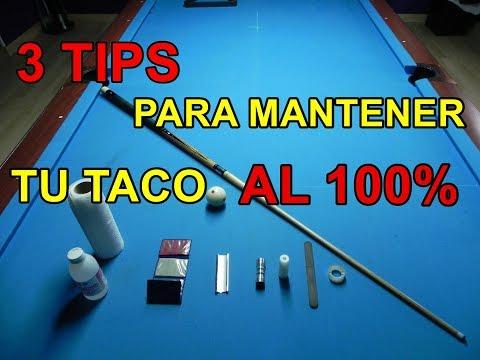 3 TIPS PARA MANTENER TU TACO AL 100%
