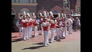 Saints Go Marching Disney band