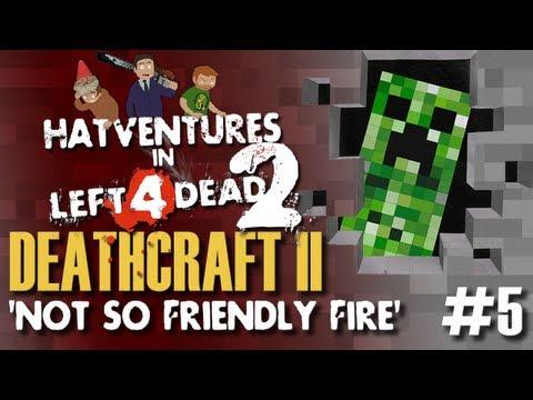 L4D2: Minecraft Mod Deathcraft 2 #5 'Not So Friendly Fire'