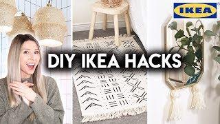 DIY IKEA HACKS | EASY + AFFORDABLE HOME DECOR